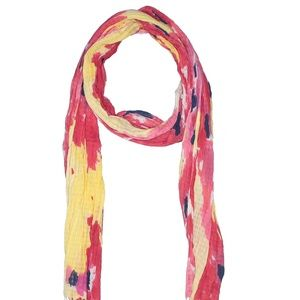 🔴 One Size Red Printed Old Navy Scarf